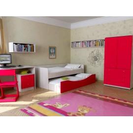 Детская двухъярусная кровать Neo 5