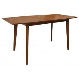 Деревянный раздвижной обеденный стол Волга дуб