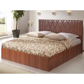 Кровать с подъемным механизмом Аврора-6 коричневая