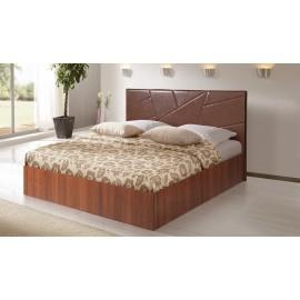 Кровать с подъемным механизмом Аврора-7 коричневая