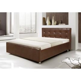Кровать с подъемным механизмом Софи коричневая