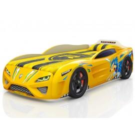 Кровать-машинка Dreamer Yellow