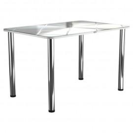 Кухонный стол с фотопечатью Стил