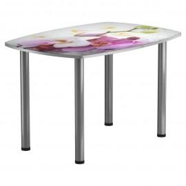 Кухонный стол с фотопечатью Весна