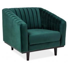 Кресло для отдыха Asprey 1 изумрудное