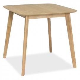 Белый обеденный стол Mosso III дуб