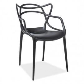 Пластиковый стул Signal Toby черный