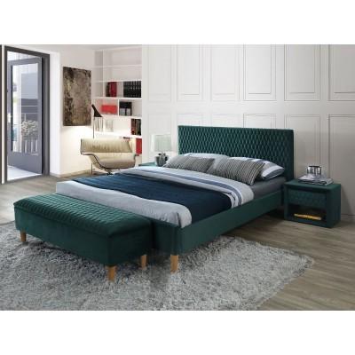 Кровать Emily зеленый бархат