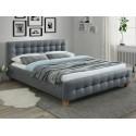 Двуспальная кровать из ткани Barcelona