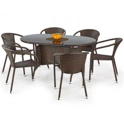 Садовый стол из искусственного ротанга Master