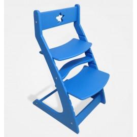 Растущий стул Ростик голубой