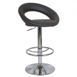Черный барный стул C300