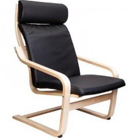 Кресло для отдыха Link черное