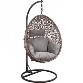 Подвесное кресло-кокон VIVALDI коричневое