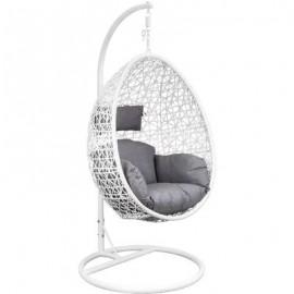 Подвесное кресло-кокон VIVALDI белое