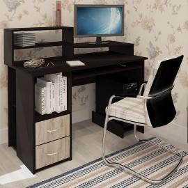 Компьютерный стол Стар дуб серый/венге