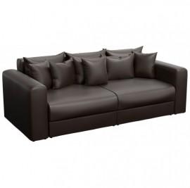Прямой диван Барон коричневый