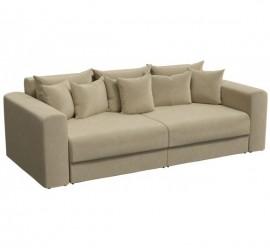 Прямой диван Барон-В бежевый
