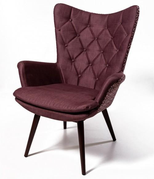 Кресло для отдыха Арка коричневое
