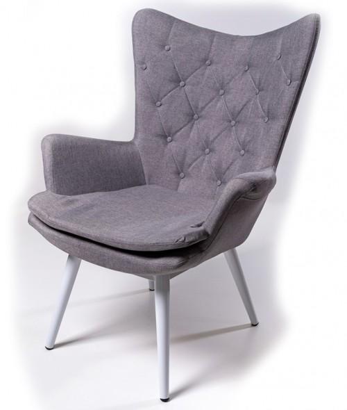 Кресло для отдыха Арка серое