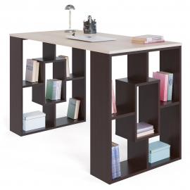Письменный стол СПМ-15 венге/беленый дуб