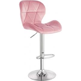 Барный стул Йон розовый