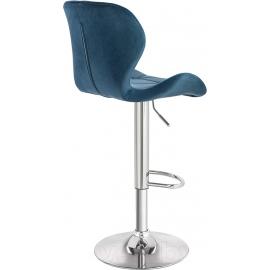 Барный стул Йон темно-синий