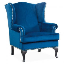 Кресло для отдыха Signal Benjamin синее
