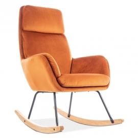 Кресло-качалка Signal Hoover оранжевое