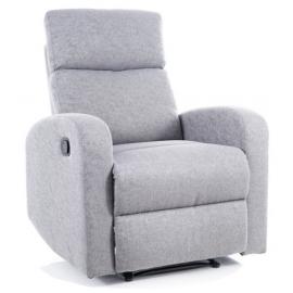 Кресло-реклайнер Mars серое