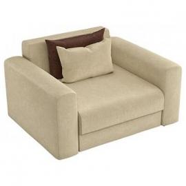 Кресло-кровать Мэдисон бежевый вельвет