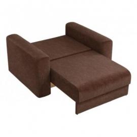 Кресло-кровать Мэдисон коричневый вельвет