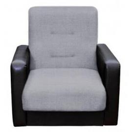 Кресло для отдыха Темза серо-черное