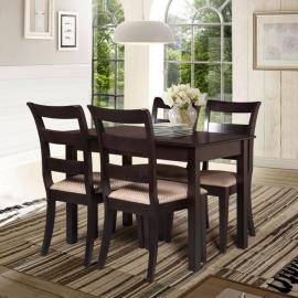 Деревянный раздвижной обеденный стол Барон