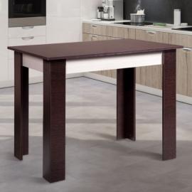 Деревянный прямоугольный обеденный стол Лукас