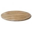 Круглый кухонный стол в стиле лофт Adonis