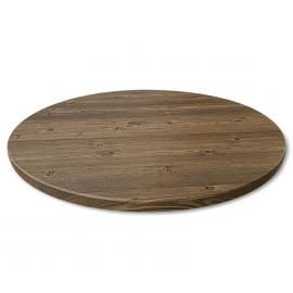 Круглый обеденный стол в стиле лофт BASE