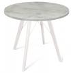 Круглый обеденный стол в стиле лофт Брайт