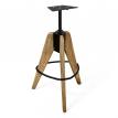 Барный стул в стиле лофт Mela