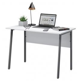 Письменный стол Старк-1 белый/графит