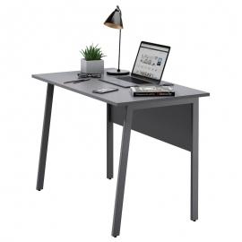 Письменный стол в стиле лофт Старк-1 серый/графит