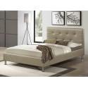 Двуспальная кровать из экокожи Rizz Shaded Porch