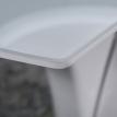 Белый раздвижной обеденный стол FARO