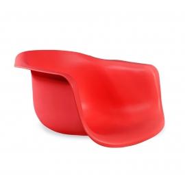 Стул с подлокотниками Flip красный/черный