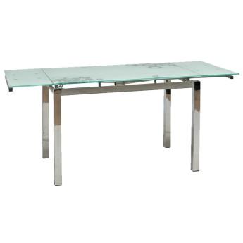 Раскладной стеклянный обеденный стол GD-017