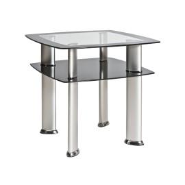 Стеклянный кофейный столик Daria D