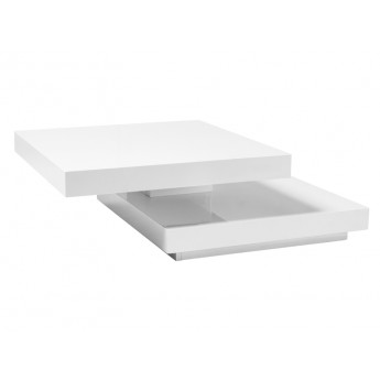 Белый журнальный стол трансформер Falon