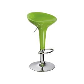 Зеленый барный стул A-148