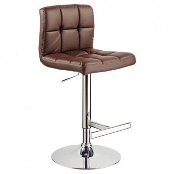 Коричневый барный стул С-105