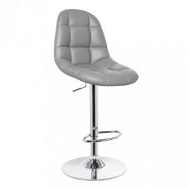 Серый барный стул С-198